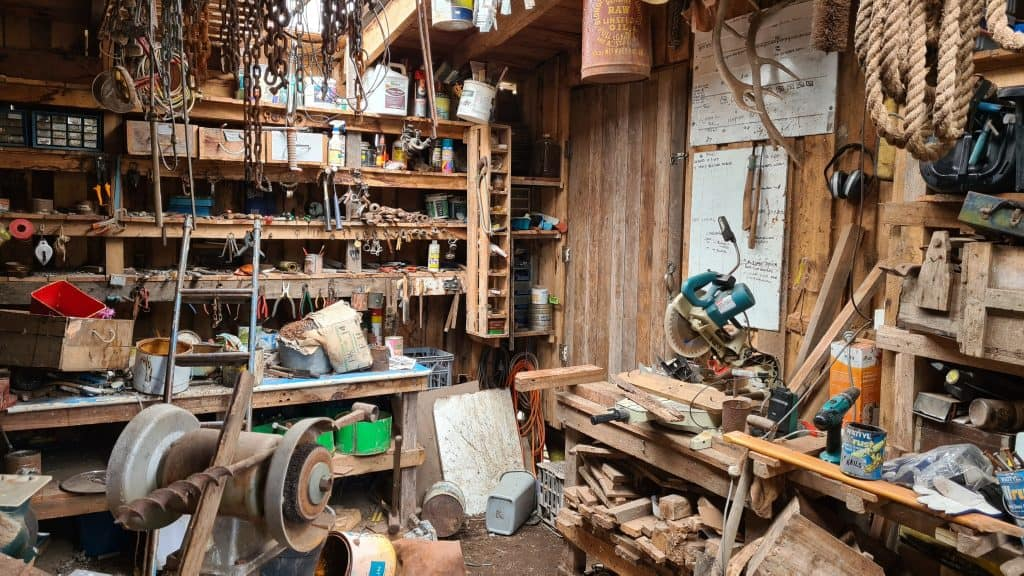 A handyman's business - inside the store