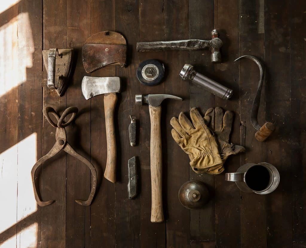 The equipment needed to start a handyman's business